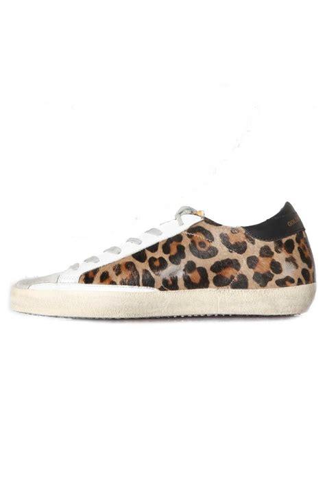 leopard sneakers lyst golden goose deluxe brand sneakers superstar snow