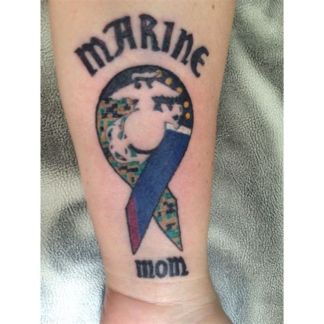 army mom tattoos marine usmc ideas
