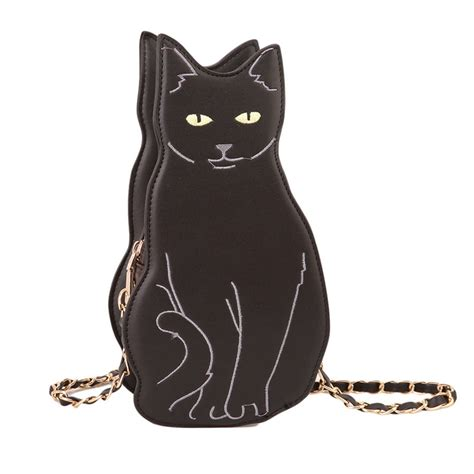 Cat Bag black cat handbag shoulder bag