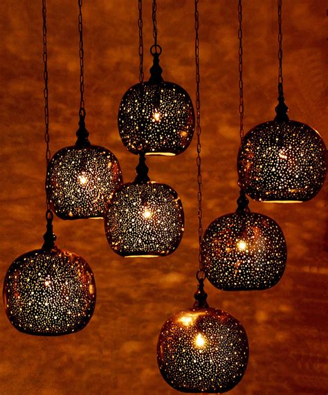 Moroccan Pendant Lanterns By St Tropez Boutique Lights And Lanterns