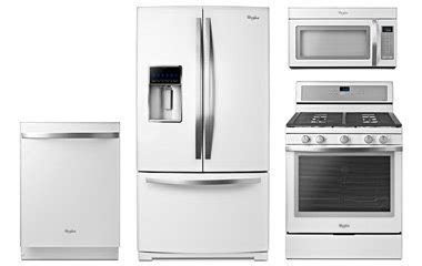 white kitchen appliance packages whirlpool white kitchen appliance package abt com