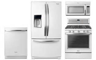 white ice kitchen appliances whirlpool white kitchen appliance package abt com