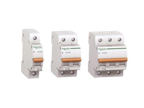 Mcb 63a Schneider domae mcb 63a 3p 6ka b curve miniature circuit breaker