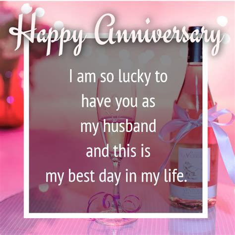 Wedding Anniversary Wishes For Your Husband (in images