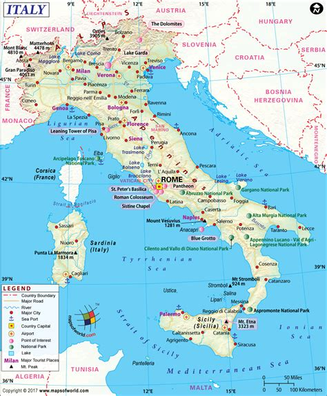 printable road map of sardinia italy map printable and detailed map of italy