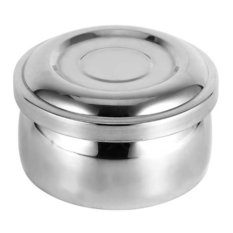 Diskon Mug Stainless With Lid 11cm Gelas Stainless 11 Cm Dengan Tutup s stainless steel mug bowl layer with lid shave tool kit ebay