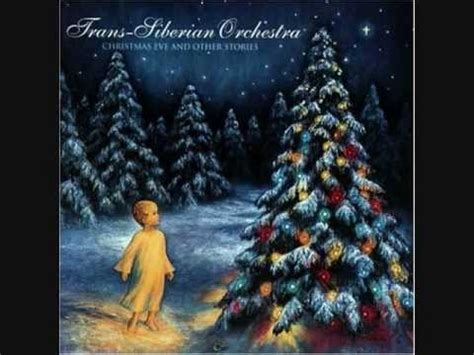 trans siberian orchestra: carol of the bells youtube