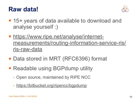 routing information service ris ripe network ripe routing information service