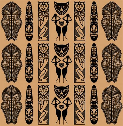 africa vector traditional background pattern traditional african tribal vector pattern welovesolo