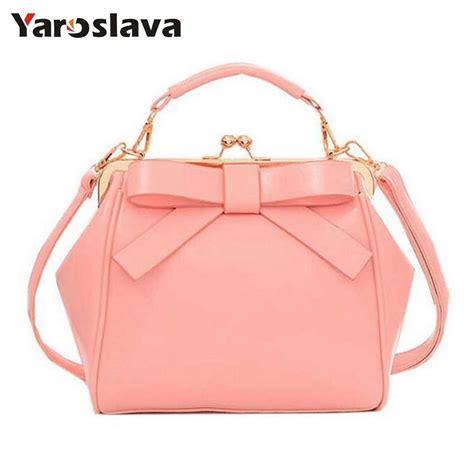 Fashion Bag 588 1 2017 new fashion handbag fashion brand bag bow shoulder bag vintage messenger
