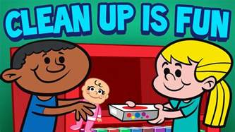 Cleaning up classroom clean up is fun cleaning song for children