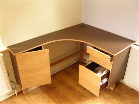 Corner Desk With Filing Drawer Stonermakes Corner Desk Drawers