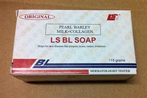 Bl Soap by Original Ls Bl Soap Pearl Barley Milk Collagen 115g