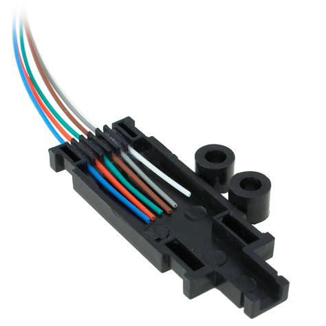 fiber fan out kit 25 inch 6 fiber buffer fan out kit cable entry
