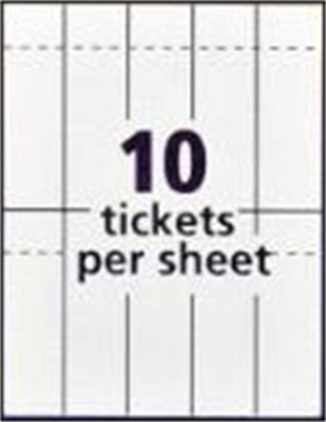 office max printable tickets template for mac cover amazon com avery tickets with tear away stubs 1 75