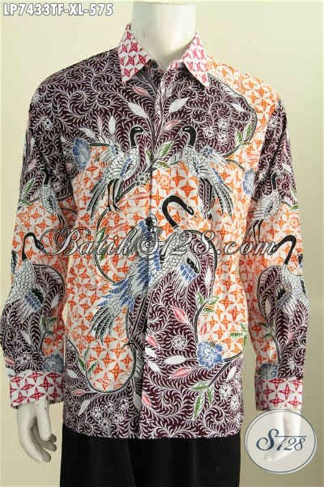 desain baju batik pria elegan produk baju batik pria dewasa hem batik bagus desain