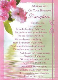 happy birthday   daughter  heaven missing  loved   heaven pinterest happy