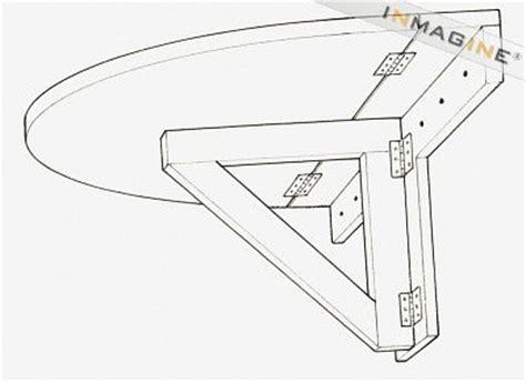 Diy Wall Mounted Folding Table by Pdf Diy Folding Wall Table Diy Plans Free