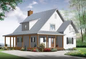 Modern farmhouse 3518 v1 by drummond house plans