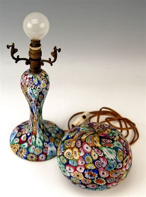 murano vintage glass l millefiori fratelli toso circa