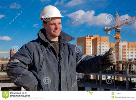 Construction Foreman by Construction Foreman Worker Royalty Free Stock Photography Image 22138107