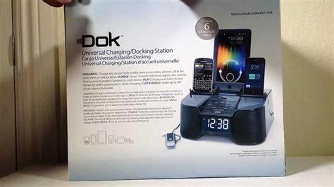 dok cr  port smart phone charger  alarm clock fm
