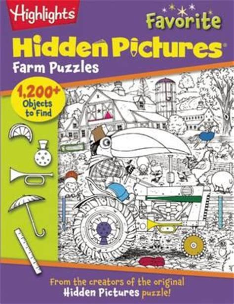 highlights pictures book highlights pictures favorite farm puzzles