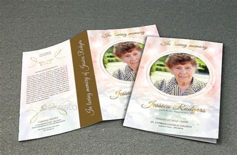 19 funeral brochure templates vector eps psd