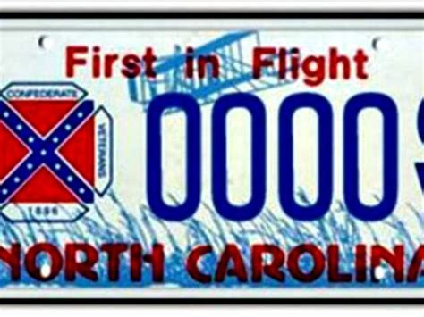 Vanity Plates Nc by Carolina Dmv Runs Out Of Confederate Flag License