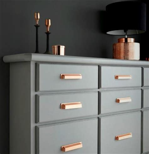 rose gold drawer handles uk more handles blog copper door handles knobs is the new