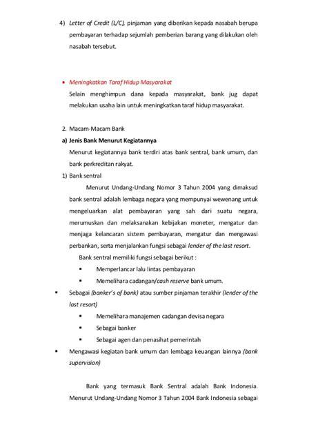Bank Yang Mengeluarkan Letter Of Credit simposium materi kelompok bank by pangestu dkk