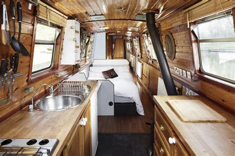 Galley Kitchen Design Photos Hire The Narrowboat Gloria England Uk Star Narrowboat