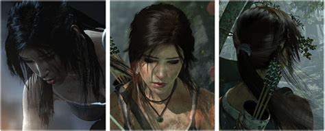 hairstyles games realistic amd tressfx gives lara croft realistic hair the tech report