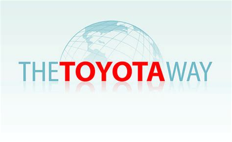 The Toyota Way Logo Toyota Way Cria 231 227 O De Logo Para Evento Quot The Toyo