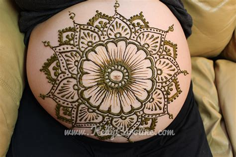pregnant belly henna amp private appointments kelly caroline