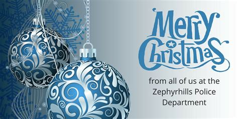 zephyrhills police  twitter      zpd     safe  peaceful holiday