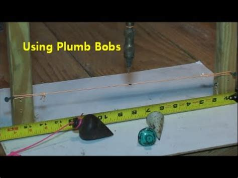 How To Make A Plumb Bob by How To Use A Plumb Bob
