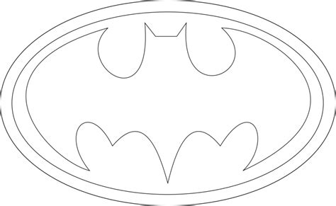 batman symbol printable template clipartsgram