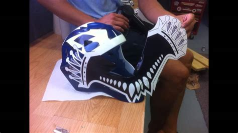 goalie mask painting template how to custom paint your hockey goalie mask felix potvin