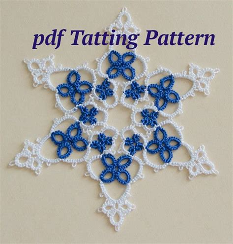 etsy tatting pattern 17 best images about tatting patterns on pinterest