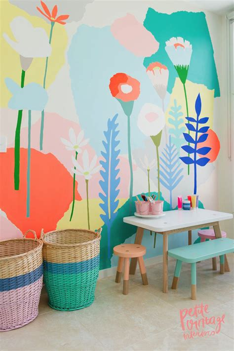 Wall Mural For Kids beautiful wall mural for kids play room