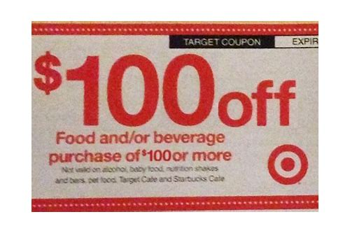 target $100 back to school coupon