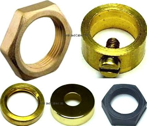 l shade retaining nut components allthread 10mm locknuts loops and