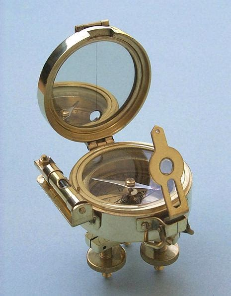 the brass compass stanley solid brass stand surveying compass from