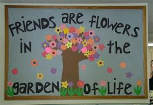 Montessori Work Rugs Friends Are Flowers In The Garden Of Life Spring Display