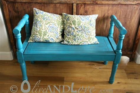 bench painting ideas turquoise entry bench painted with rustoleum lagoon