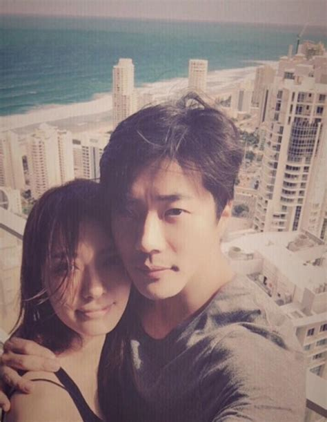 Kwon Sang Woo And Wife Son Tae Young Celebrate Spouses