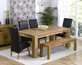 dining tables with bench and chairs turin oak dining table 200cm with bench 4 rochelle