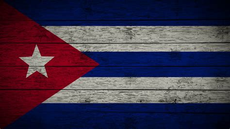cuban cuba flag painting flag of cuba on old wood boards with four