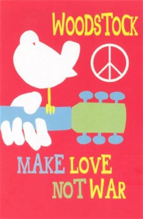 woodstock  love  war postcard peace resource project